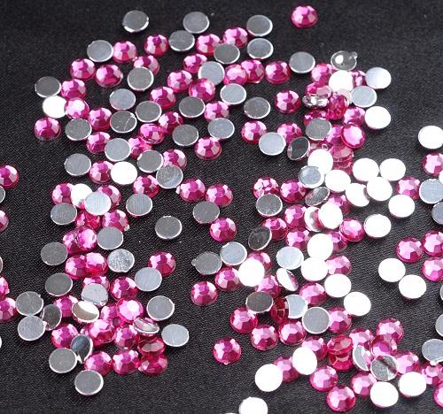 핑크 비즈-5mm (100p)