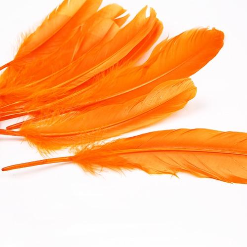 자연산 깃털 (대)-  오렌지:10개입