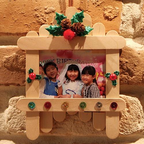 성탄 우드액자 만들기(5 인용)