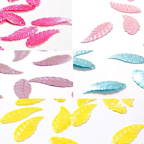 나뭇잎 반짝이 스팽클(40g)