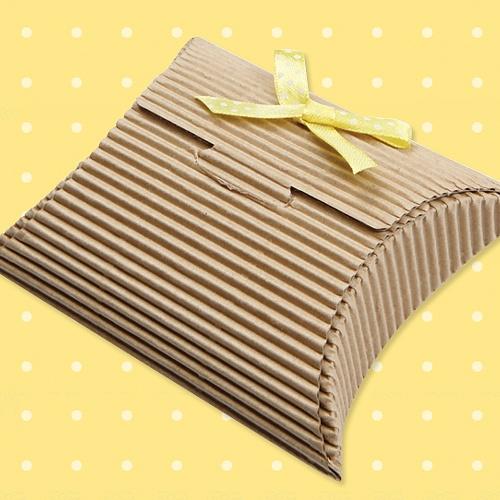 [포장박스]골판지 움푹 패인 상자