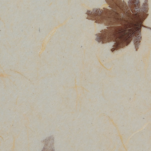 [한지]낙엽운용지(34)-연한살구색