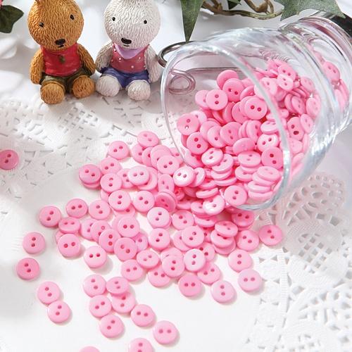 미니단추-핑크(50개)