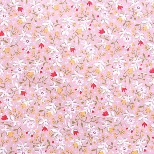 패브릭스티커 -  A3 (특대사이즈):러브플라워(핑크)