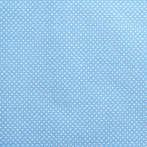 패브릭스티커-  A3 (특대사이즈)- 스카이블루도트