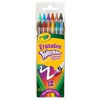[KC인증]지워지는 트위스트 색연필 12색(Erasable)