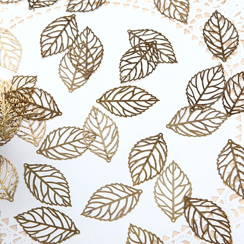 전통금장무늬-나뭇잎(10개)