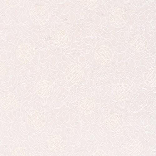 전통무늬 원단스티커 - 크림화이트