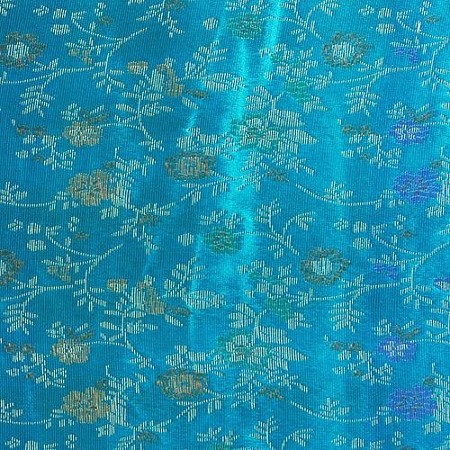 전통무늬 원단스티커 - 꽃하늘