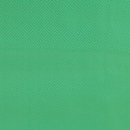 전통무늬 원단스티커 - 미로그린