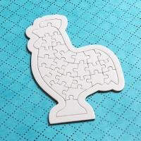 종이퍼즐-닭모양(동물모양)