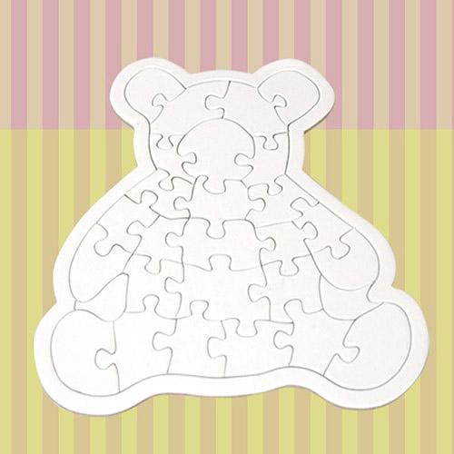 동물모양 퍼즐-아기곰