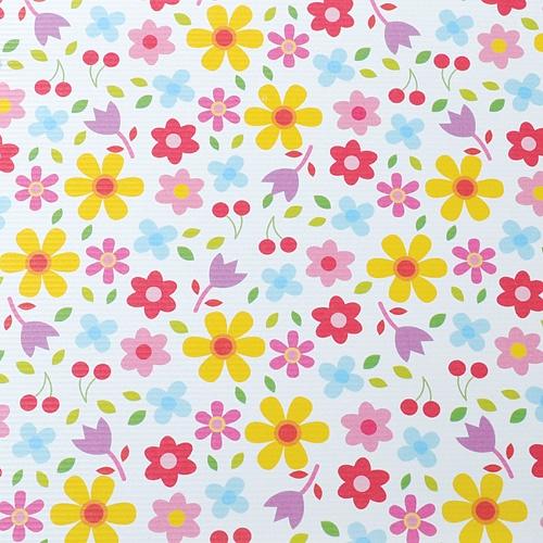 꽃밭 포장지(5장)