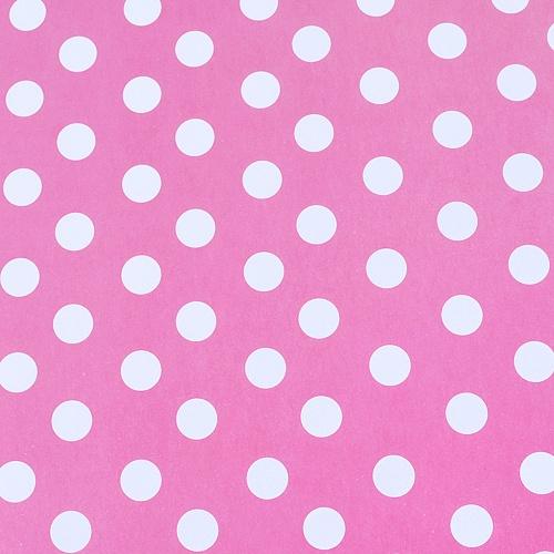 물방울-핑크 포장지( 50 장 )