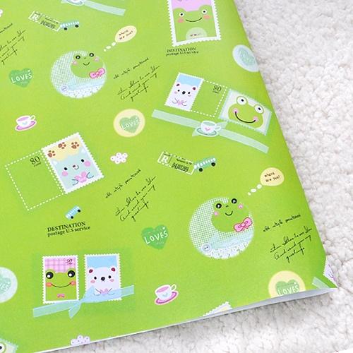 개구리( 50 장)-보급용 포장지