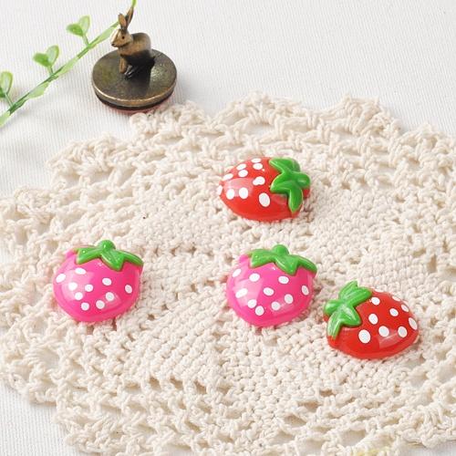 아크릴틱 딸기 (5개)