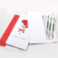 카네이션 봉투 (10 P)