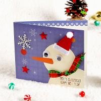 성탄 카드만들기(눈사람) (5인용)