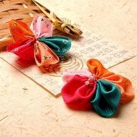 오색 큰꽃 코사지(5개)