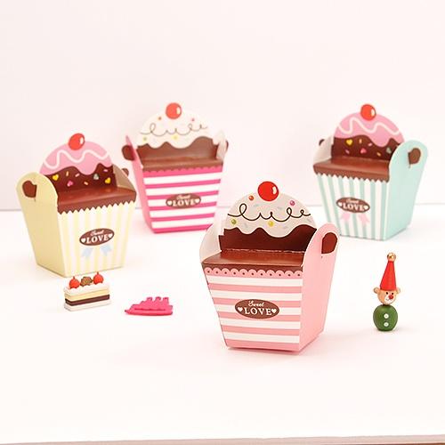 [포장박스] 컵케익4종