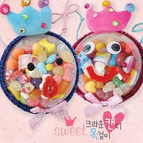 크라운 캔디 목걸이(5인용)
