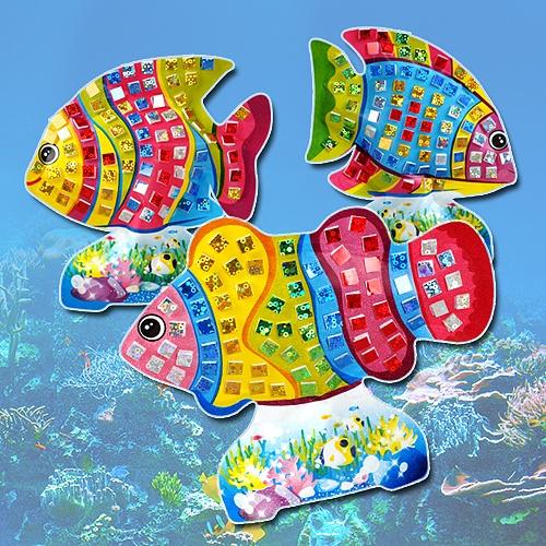 [KC인증]홀로그램 물고기 3종세트