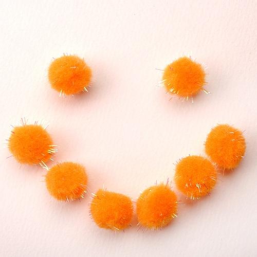 뿅뿅이_ 오렌지색 (약100개)
