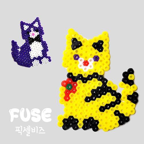 FUSE 픽셀비즈_ 고양이 [KC인증]