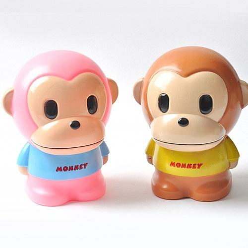 원숭이 저금통(색상랜덤)