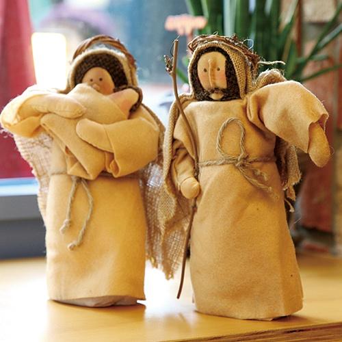 아기예수와 요셉마리아(2개 1세트)