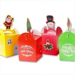 [포장박스] 성탄입체 선물상자 (4종 택1)