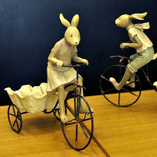 자전거 타는 토끼 (2종 택1)