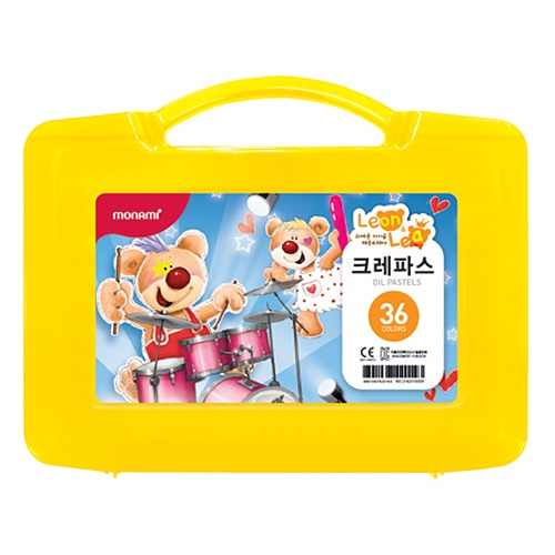 [모나미]가방파스 36색세트(레온&레아)중성