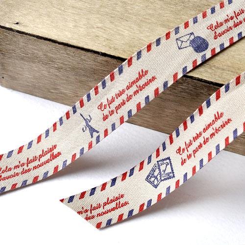 패브릭리본_파리로보내는편지(15mm)-2마