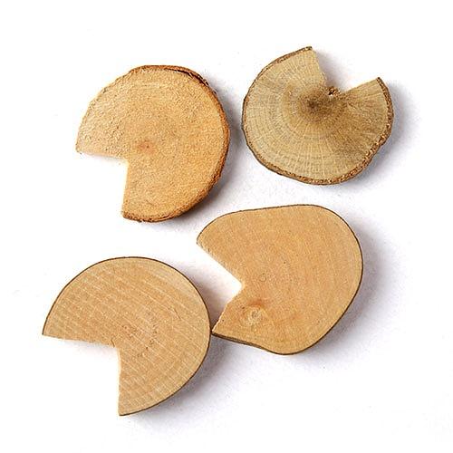 자연물_ 둥근홈나무조각 (NA-05)