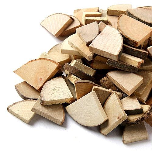 자연물_ 부채꼴 나무조각 (NA-08)