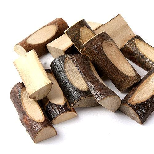 자연물_ 홈기둥 나무조각 (NA-21)