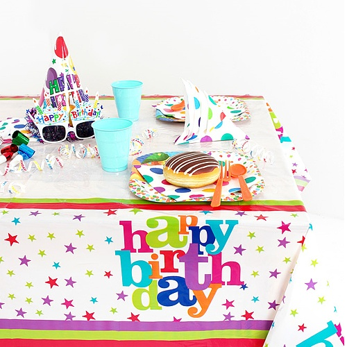 생일파티 테이블보