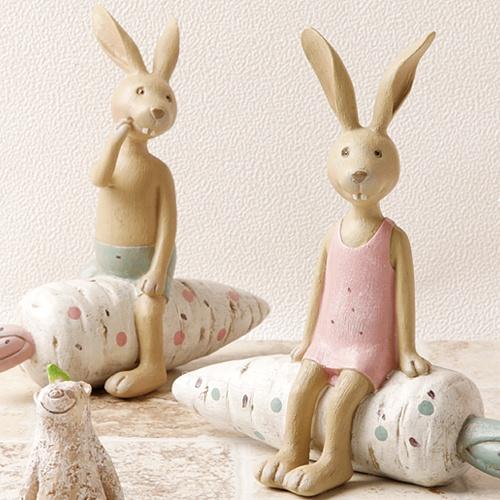 [장식용품]토끼는 당근토끼 (2종 택1)