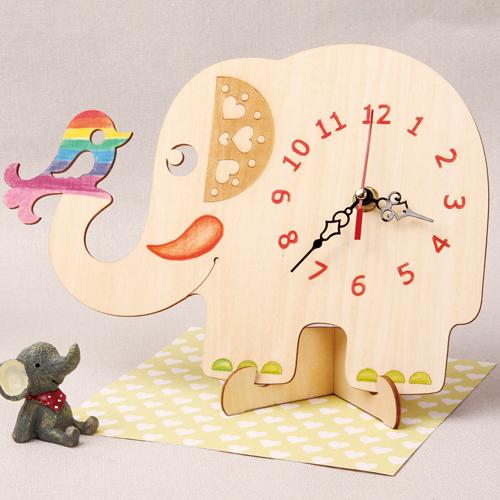 큰 코끼리 시계 (무브+ 바늘포함)