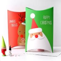 [포장박스]성탄 반달상자-대 사이즈 (2종중 택1)