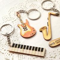 [열쇠고리]악기 우드키링 (8종 택1)