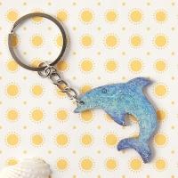 [열쇠고리]돌고래 우드키링