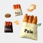 빵주머니 비즈 (3종중 택1)