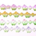 그라데이션 꽃과 딸기모양 (1마)