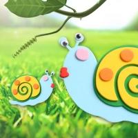[KC인증]EVA 달팽이(4개입/1봉)