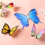 자석이 있는 나비 (4종 6개입)