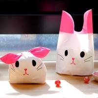 [포장봉투] 핑크캣 주머니 (10매)