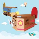 하늘높이 박스비행기(저작권 등재)
