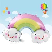 은박풍선_무지개구름